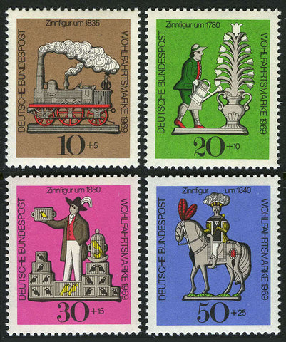 German toys postage stamps