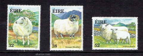 Sheep on stamps