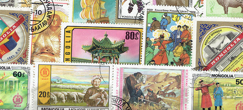 Mongolia Stamp Packet