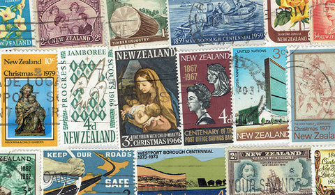 New Zealand Stamp Packet
