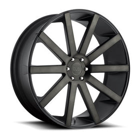 DUB Shot Calla 30x10 Wheels Black Machined 6x5.5 (6x139.7) 30 | S121300077+30