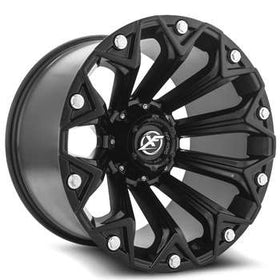 XF Offroad ® XF-212 Wheels Rims 20x9 5x4.5 (5x114.3) 5x127 (5x5) Satin Black 0mm | XF-212209051143127+0SB