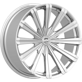 28x10 Chrome Wheel Borghini B18 6x135 6x5.5 25