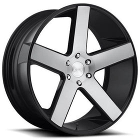 DUB Baller S217 30x10 Wheels Rims Black Brush 30 | S217300077+30