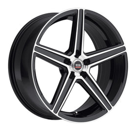 Spec 1 ® SP-8 Wheels Rims 20x10.5 5x120 Black Machine 38mm | SP8Y201051838GBM