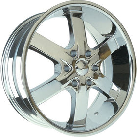 28x10 Chrome Wheel U2 U2-55SB 6x5.5 25