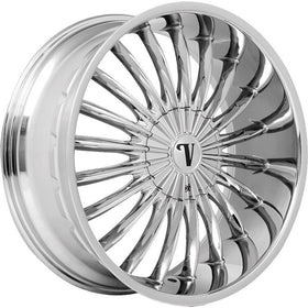 30x10 Chrome Wheel Velocity VW11 6x135 6x5.5 25