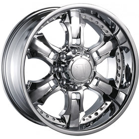 24x9.5 Chrome Wheel Velocity VW650 8x170 10
