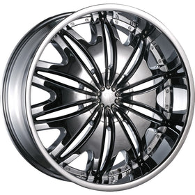 22x9.5 Chrome Wheel Velocity VW820 6x135 6x5.5 30