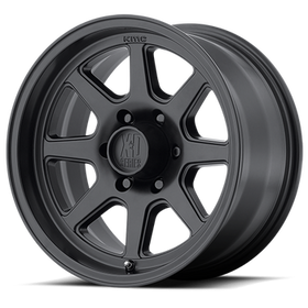 XD Series Turbine Wheels 17x8.5 5x4.5 (5x114.3) Black -6mm | XD30178512706N