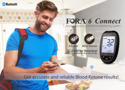 Fora 6 Connect Blood Ketone and Glucose Accurate Results