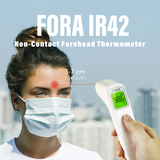 FORA Forehead Thermometer IR42, Health Canada Licensed, ship from Vancouver