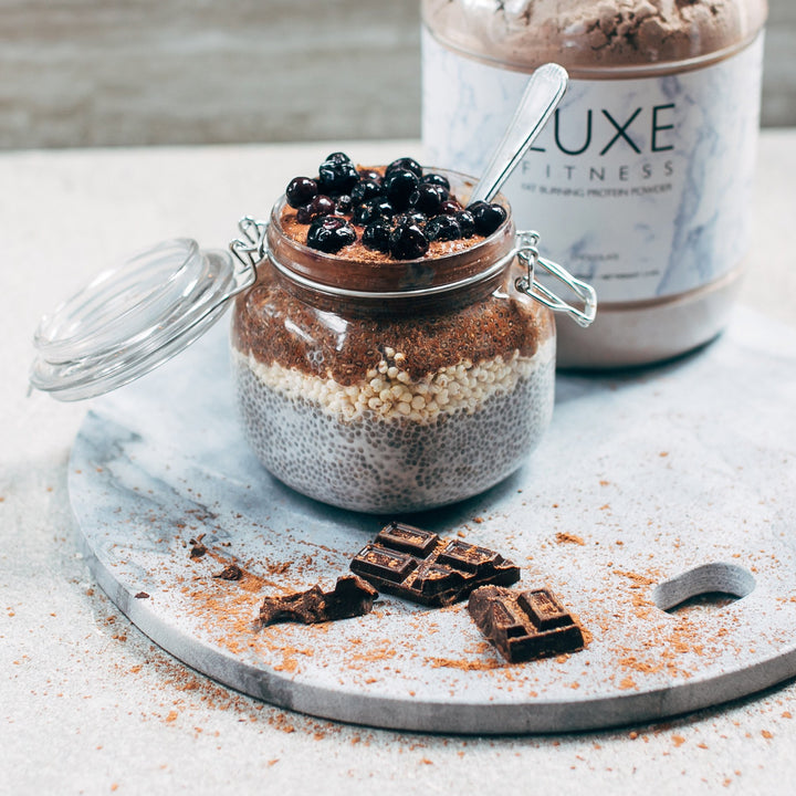 Chia Quinoa Puff Pudding