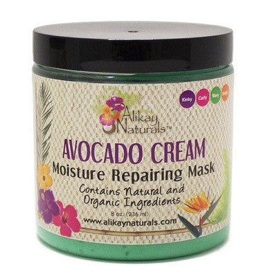 Alikay Naturals Avocado Cream Moisture Repair Mask - 8.0 oz