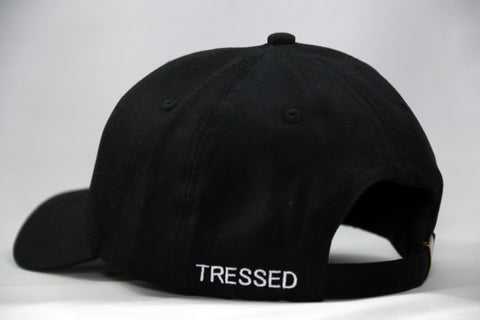 Tressed Satin Lined Hat - Black
