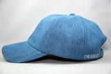 Tressed Satin Lined Hat - Denim