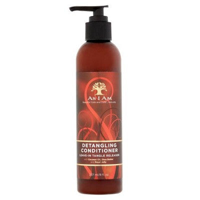 As I Am Detangling Conditioner Leave-in Tangle Releaser - 8.0 oz