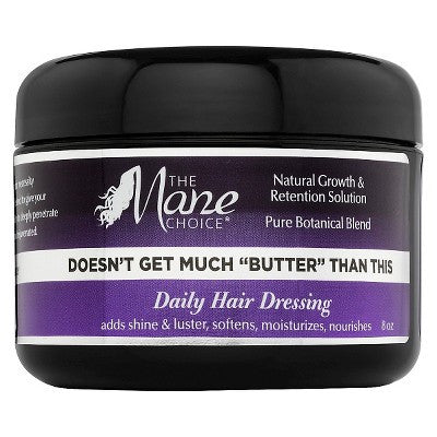 "The Mane Choice Doesn't Get Much ""Butter"" Than This Daily Hair Dressing - 8.0 oz"