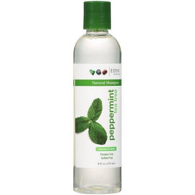 Eden BodyWorks Peppermint Tea Tree Shampoo - 8.0 oz