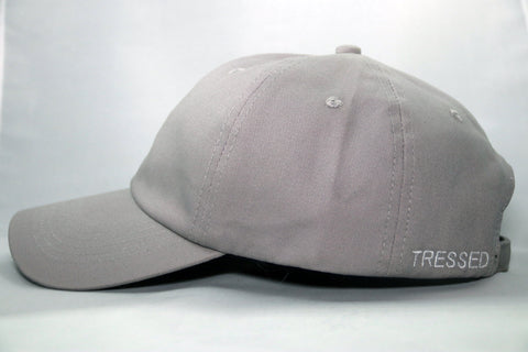 Tressed Satin Lined Hat - Grey