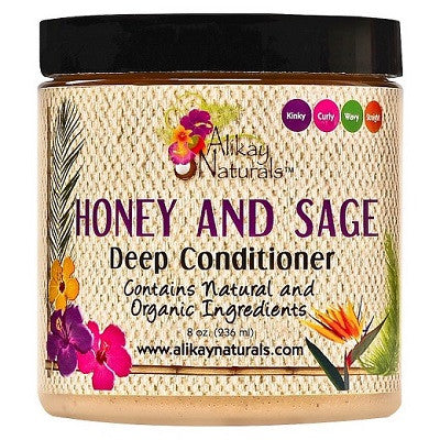 Alikay Naturals Honey and Sage Deep Conditioner - 8.0 oz