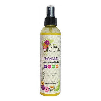 Alikay Naturals Lemongrass Leave-In Conditioner - 8.0 oz