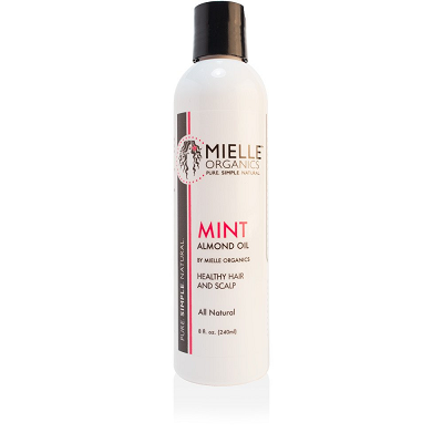 Mielle Organics Mint Almond Oil - 8.0 oz