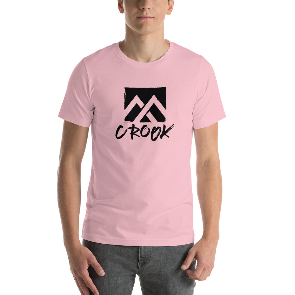 Crook Square Symbol and Font T-Shirt