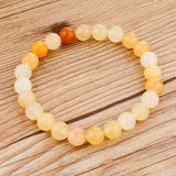 CHICVIE Tiger Eye Love Buddha Bracelets & Bangles Trendy Natural Stone Bracelet - Necklace for Her