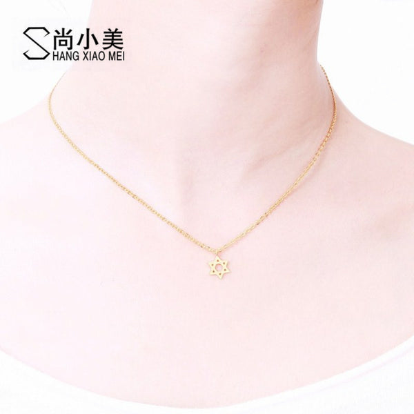 High Quality Jewish Israel Star of David Pendant Necklace - Necklace for Her