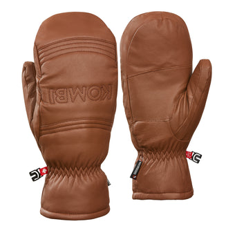 Groomer Leather Mittens - Men