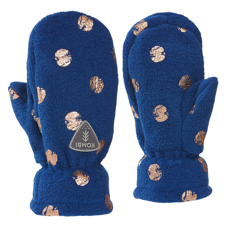 Cheery Wool-Blend Mittens - Children