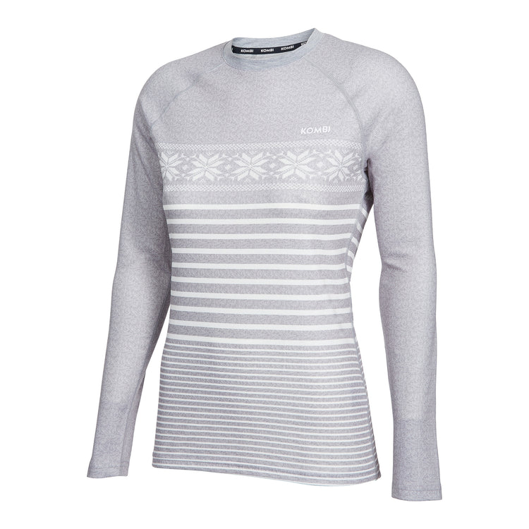 MERINO BLEND Crew Top - Women