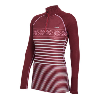 MERINO BLEND Zip Top - Women