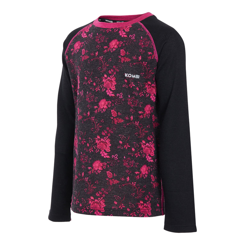 MERINO BLEND Crew Top - Juniors