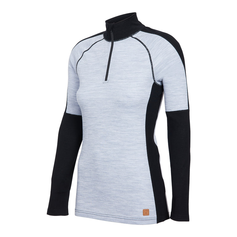 100% MERINO Zip Top - Women