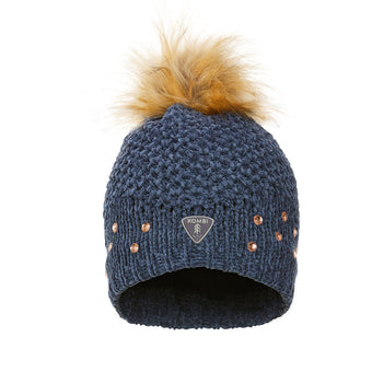 Trendy Rhinestone Knit Toque - Children