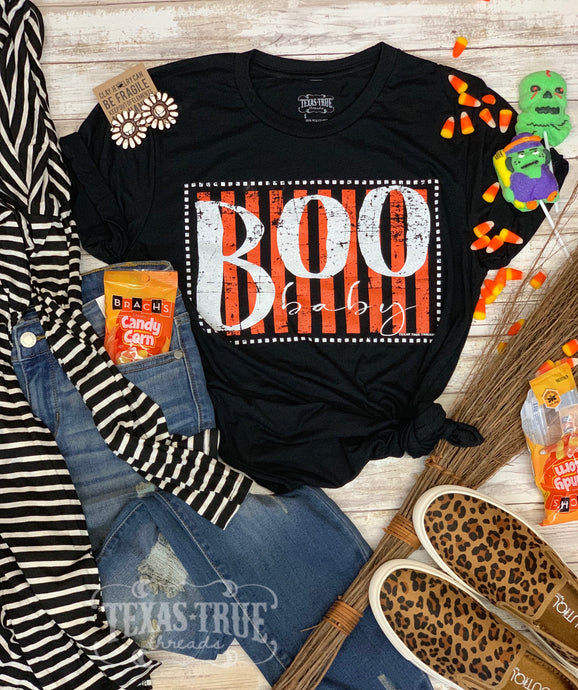 Boo Baby by Texas True Threads Graphic Tee  Texas True Threads - Horse Creek Boutique