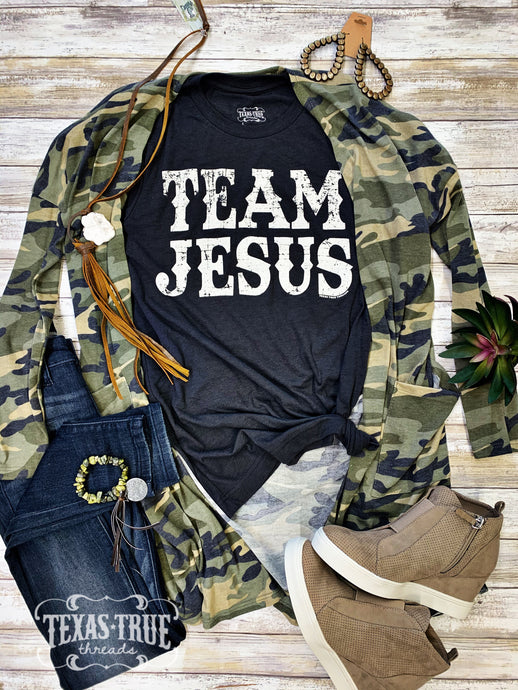TEAM JESUS by Texas True Threads Graphic Tees  Texas True Threads - Horse Creek Boutique
