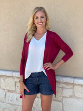 The Solid Cardigan by GameDay Gal