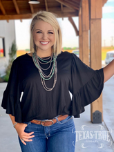 Stacie Ruffle Blouse by GameDay Gal (9 Colors)