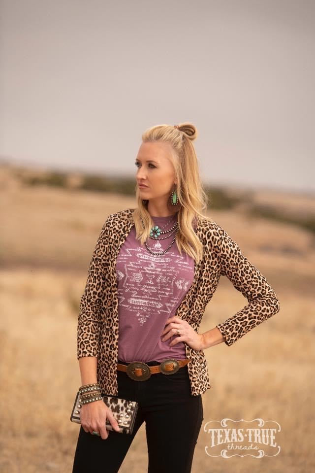 Southwest Aztec Tee Graphic Tees  Texas True Threads - Horse Creek Boutique