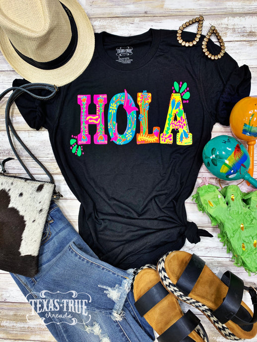 HOLA by Texas True Threads Graphic Tee  Texas True Threads - Horse Creek Boutique