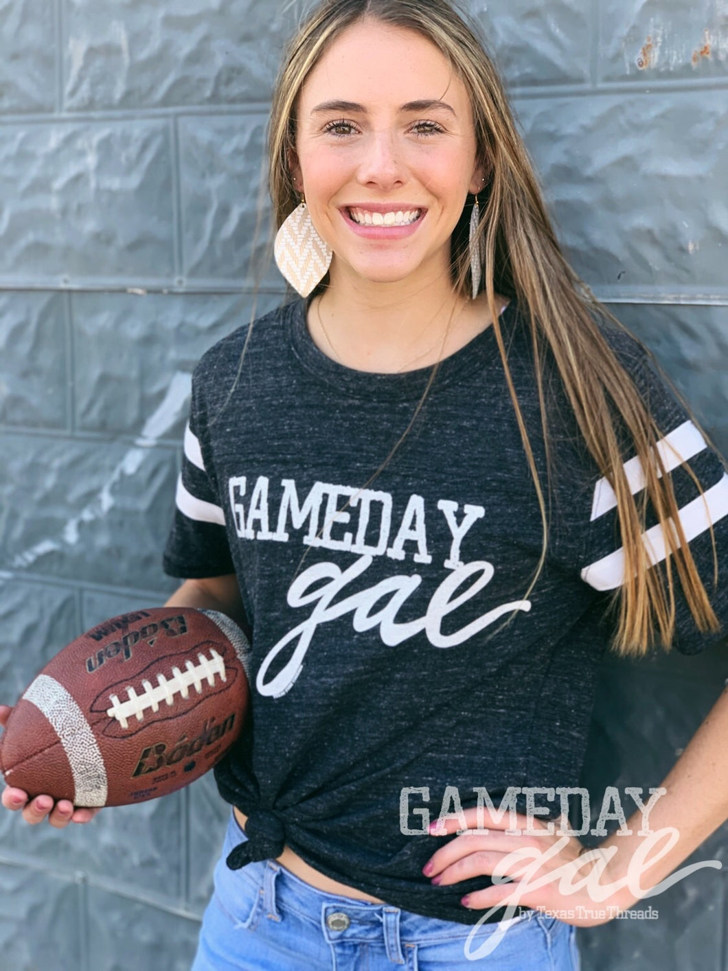 GameDay Gal Varsity Tee Graphic Tee  Texas True Threads - Horse Creek Boutique