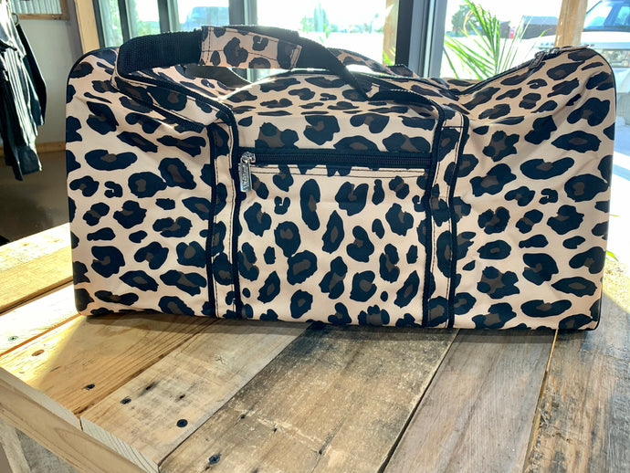 Wild Side Leopard Duffle Bag