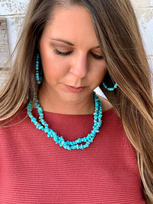 Quade Turquoise Necklace