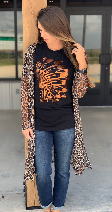 Indy Leopard Duster