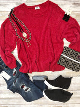 Mendy Fuzzy Sweater by GameDay Gal