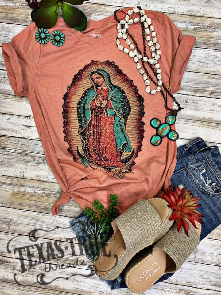 Our Lady of Guadalupe Tee by Texas True Threads