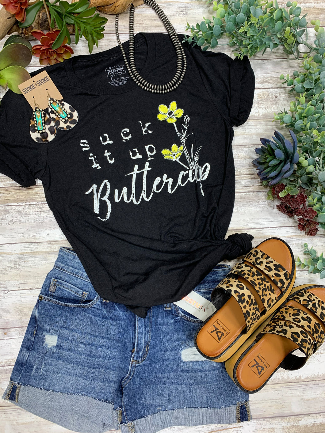 Suck it up Buttercup by Texas True Threads Graphic Tees  Horse Creek Boutique - Horse Creek Boutique